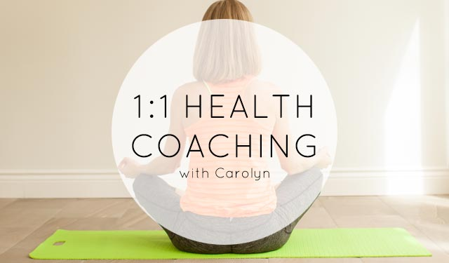 One on One Coaching with Carolyn