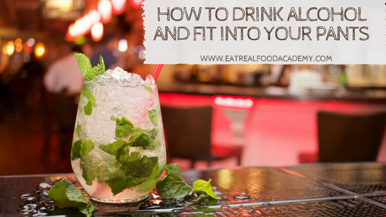 How to drink alcohol and fit into your pants