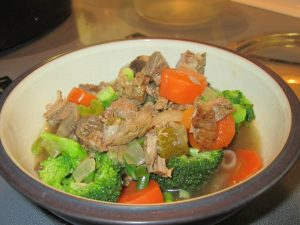 Leftover Roast Beef Soup