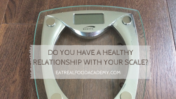 Do you have a healthy relationship with your scale?