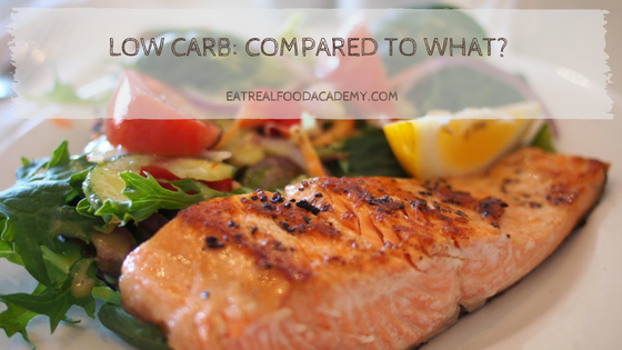 Low Carb: Compared to What?