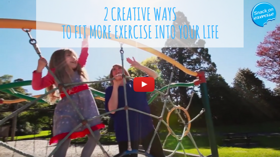 2 Creative Ways to Fit More Exercise Into Your Life