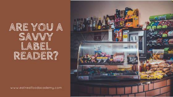 Are you a savvy label reader?